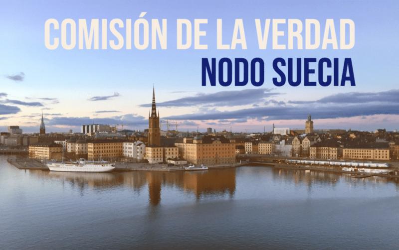 El Nodo Suecia es uno de los más de catorce nodos de apoyo a la Comisión de la Verdad en Europa
