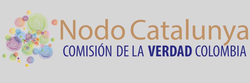 Logo del Nodo en Cataluña que apoya a la Comisión de la Verdad de Colombia.