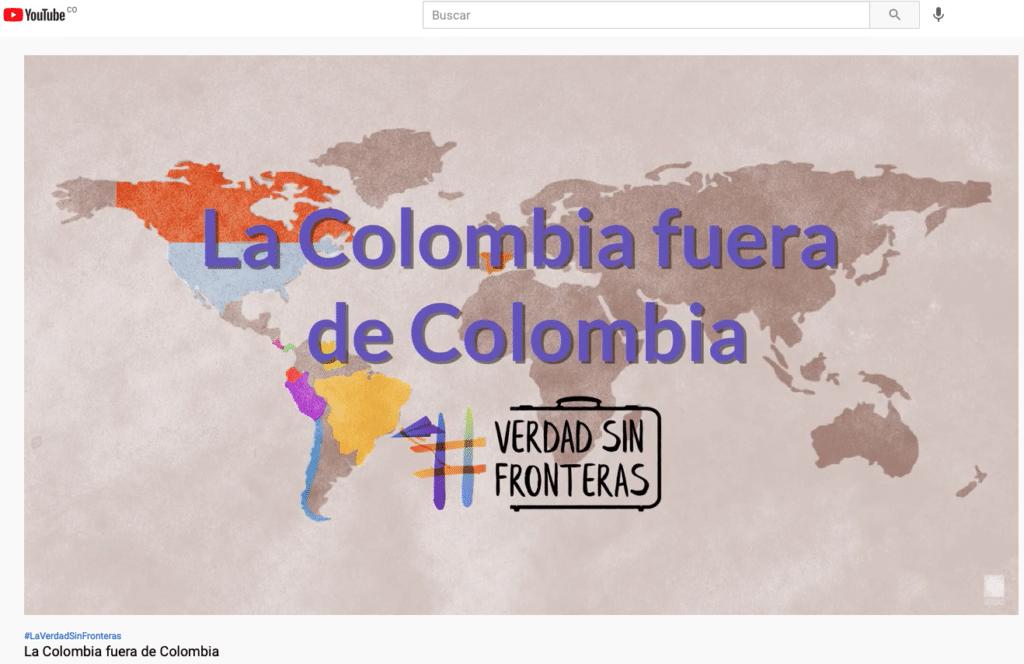 La Comisión de la Verdad de Colombia tiene presencia en más de 20 países.