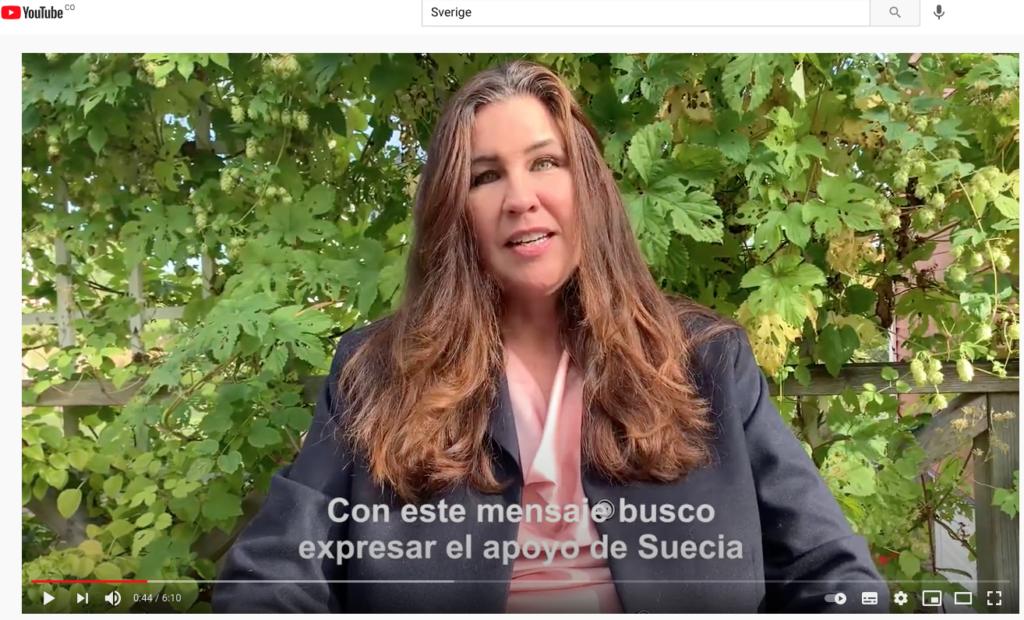 El Gobierno de Suecia apoya el trabajo del Nodo Suecia y de la Comisión de la Verdad de Colombia en ese país
