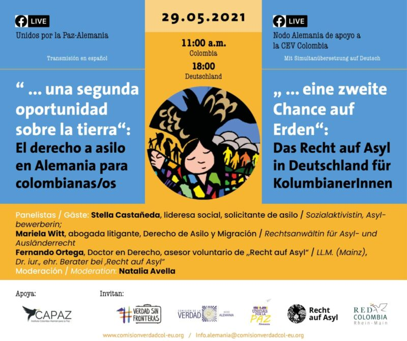El Nodo Alemania es apoyado por el Instituto Colombo-Alemán para la Paz - CAPAZ.